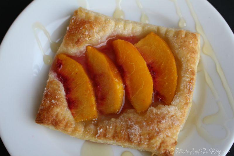 Easy Peach Tarts