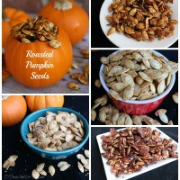 Sweet and Savory Roasted Pumpkin Seeds