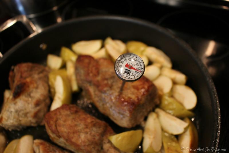 Baked Pork and Apples #ad #SmithfieldPork