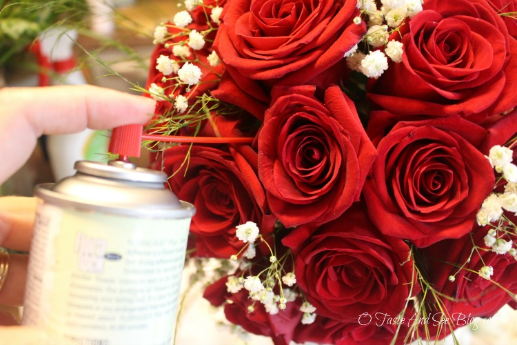 DIY Bridal Bouquet #ad #DIYWedding