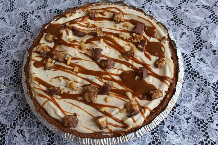 No Bake Snicker Pie