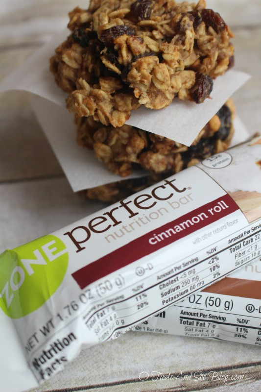 Granola Breakfast Cookies #ad #ZonePerfectLittleWins