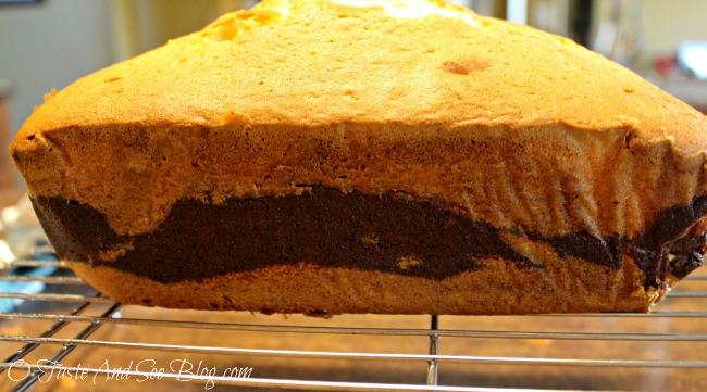 O Taste And See Vanilla Brownie Ripple Pound Cake O
