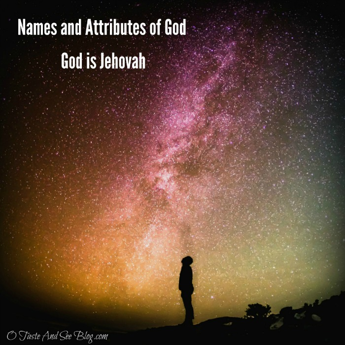 Names of God Jehovah