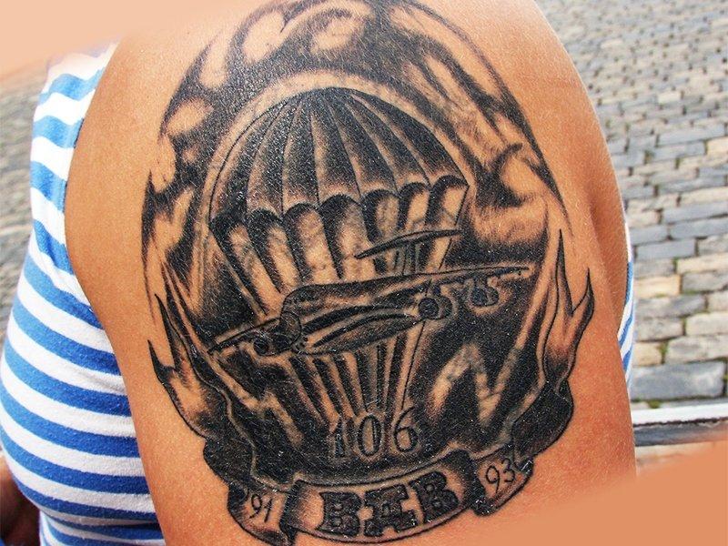 Армейская татуировка ВДВ