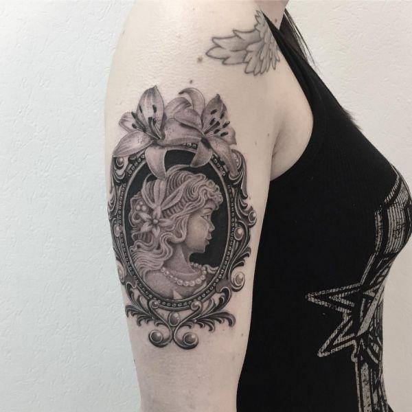 Тату барокко: значение, 71 фото татуировки, эскизы
