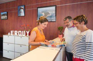 Homogénéiser les pratiques et les services d'accueil entre l'Office de Tourisme et ses antennes BERTHIER Emmanuel