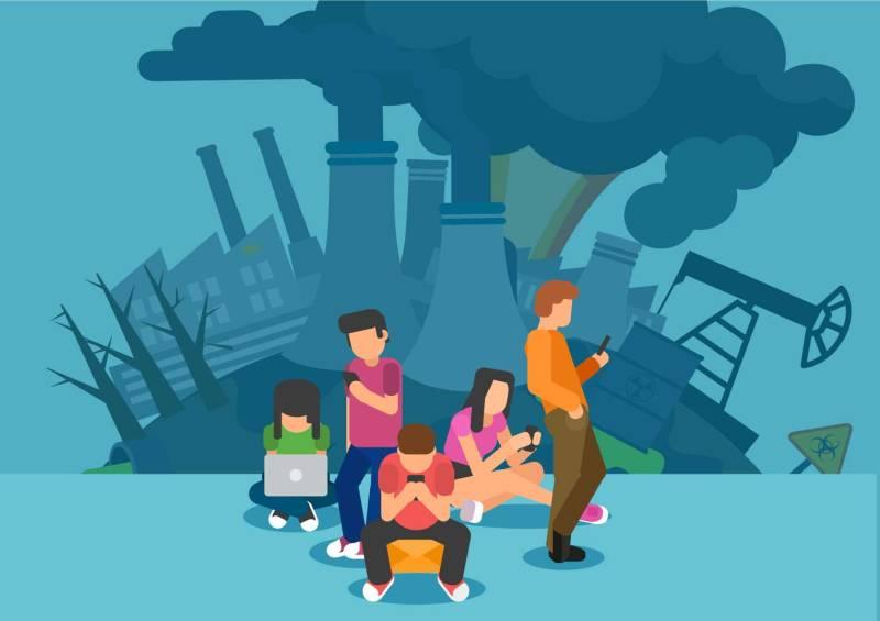 Pollution numerique etourisme