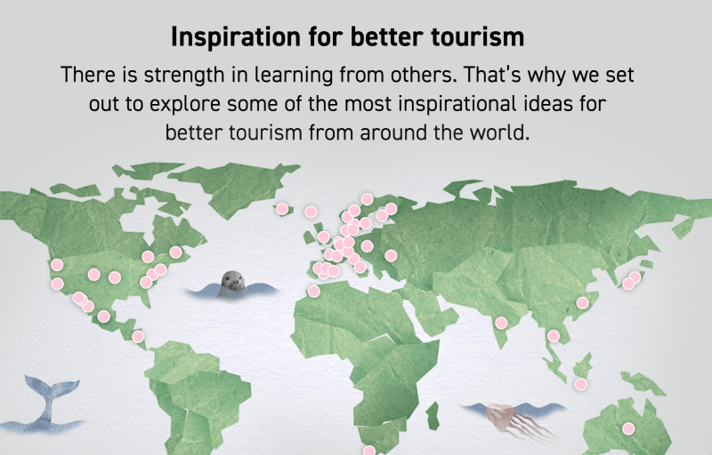 Inspiration for better tourism