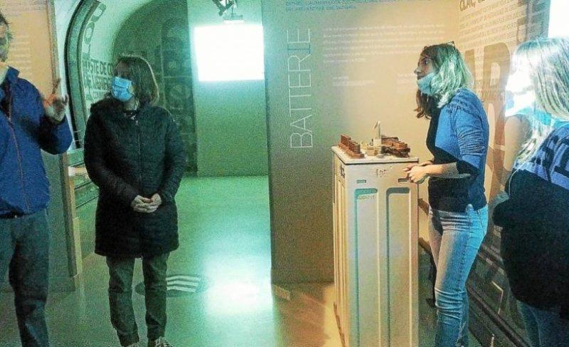 cette visite test du musee du sous marin flore en langue