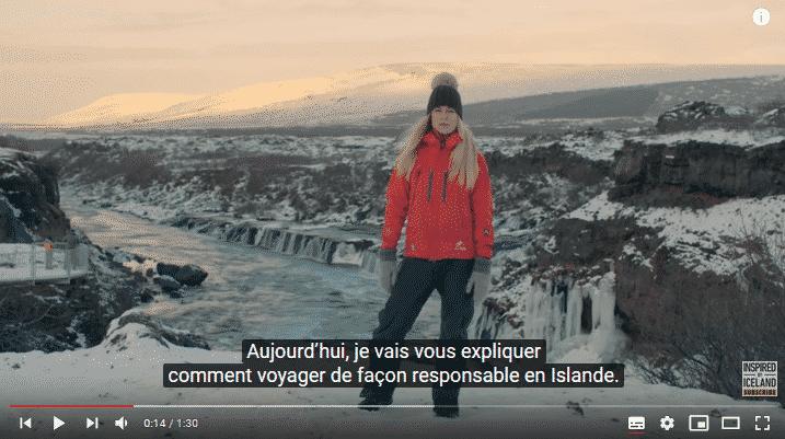 islande video touristes