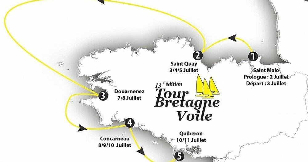Saint-Quay-Portrieux : le port d'Armor accueillera le Tour de Bretagne à la voile du 3 au 5 juillet