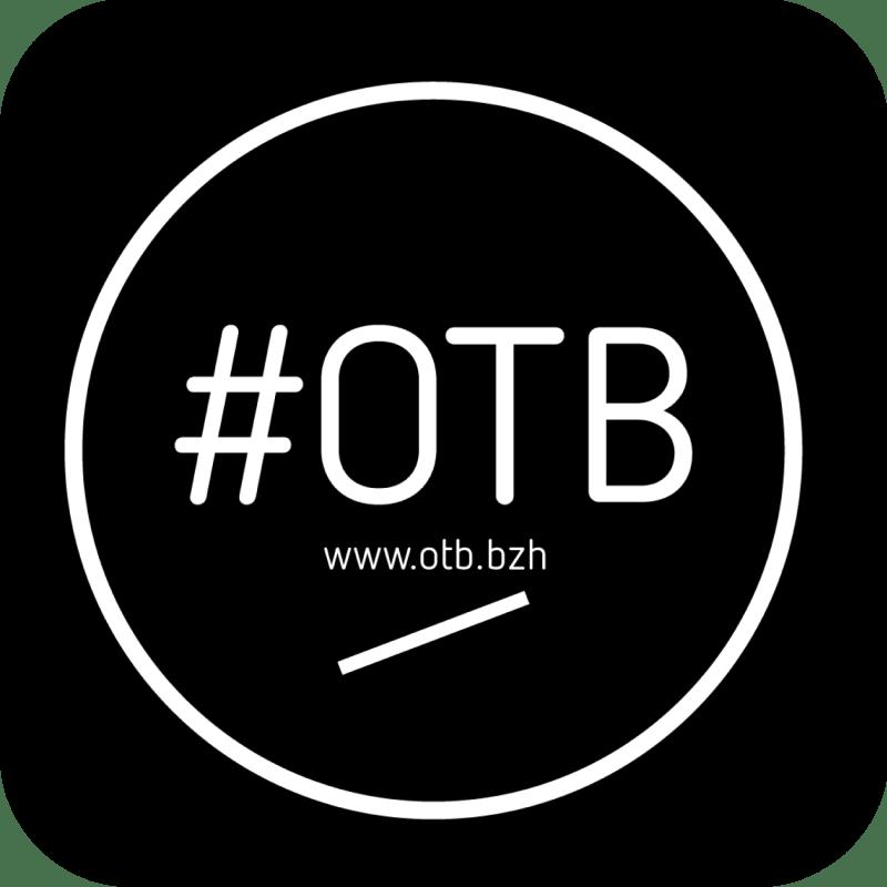 pastille OTB noire carre