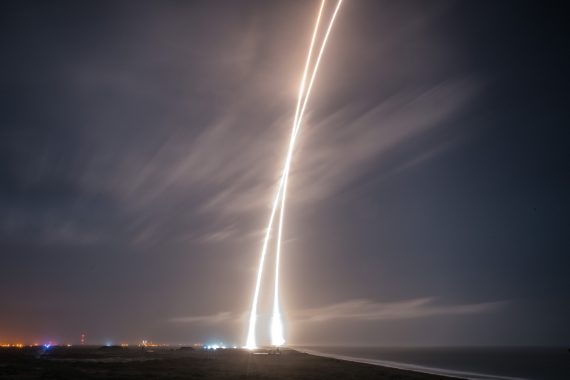 SpaceX Pulls Off Historic Launch And Return Of Rocket ...