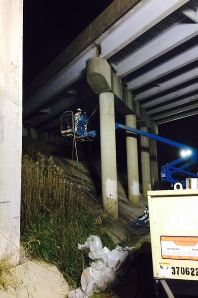 MWAA I-267 over W&OD Trail Bridge Rehab#3