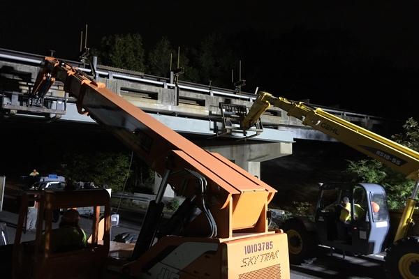 VDOT H24 Bridge Girder Replacement 1JPG