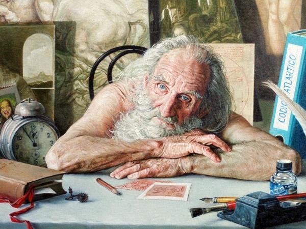 Stano Lajda: Strážca starého depozitu (detail), 1999