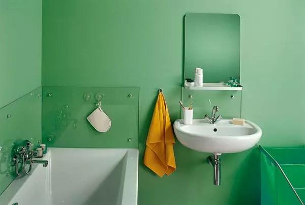 покраска стен в ванной комнате дизайн фото 1