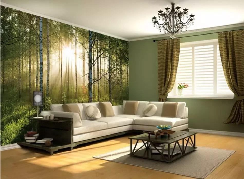 Дизайн стен в гостиной в разных вариантах. Как оформить дизайн стен в современной гостиной