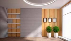 Декоративные панели для внутренней отделки стен под кожу