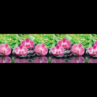 "Фартук для кухни из ABS пластика ""Орхидеи эпифиты"""