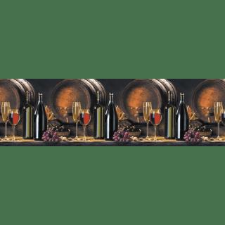 "Фартук для кухни из ABS пластика ""Вино"""