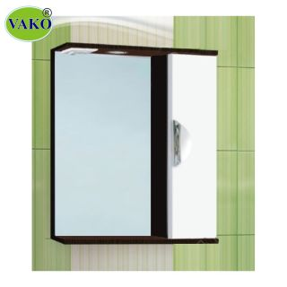 Шкаф зеркальный «Ника 600» с подсветкой правый, венге