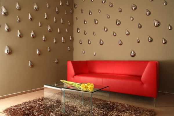 Обои для стен 3Д: как клеить объемные рисунки на стенах в ...