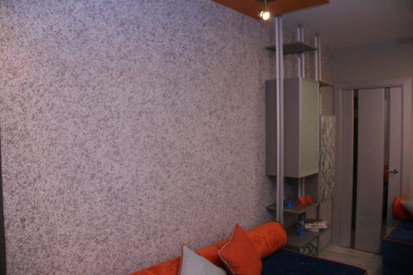 Шелковые обои для стен: как правильно клеить и сочетать с ...