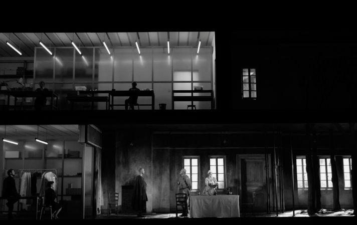 Опера Джорджа Бенджамина «Написано на коже», режиссер Кэти Митчелл, Фестиваль в Экс-ан- Провансе, 2012