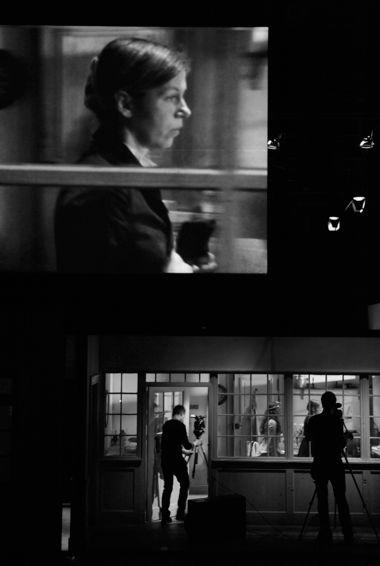 Сцена из «Кристины» по «Фрекен Жюли» Стриндберга в постановке Кэти Митчелл, Schaubühne am Lenniner Platz (Berlin), 2010