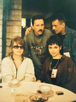 Фото: Андрей и Елена Плаховы, Сергей и Карина Добротворские, из личного архива Андрея Плахова