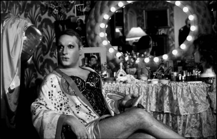Мишель Серро в киноверсии «Клетки для птиц», 1978.