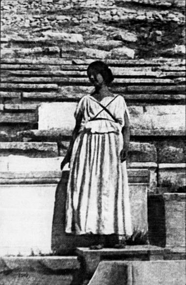 Айседора Дункан, Афины, 1903.