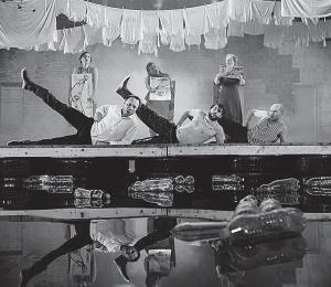 «Корабль дураков» в постановке Николая Коляды, театр «Выбжеже», Гданьск, 2014
