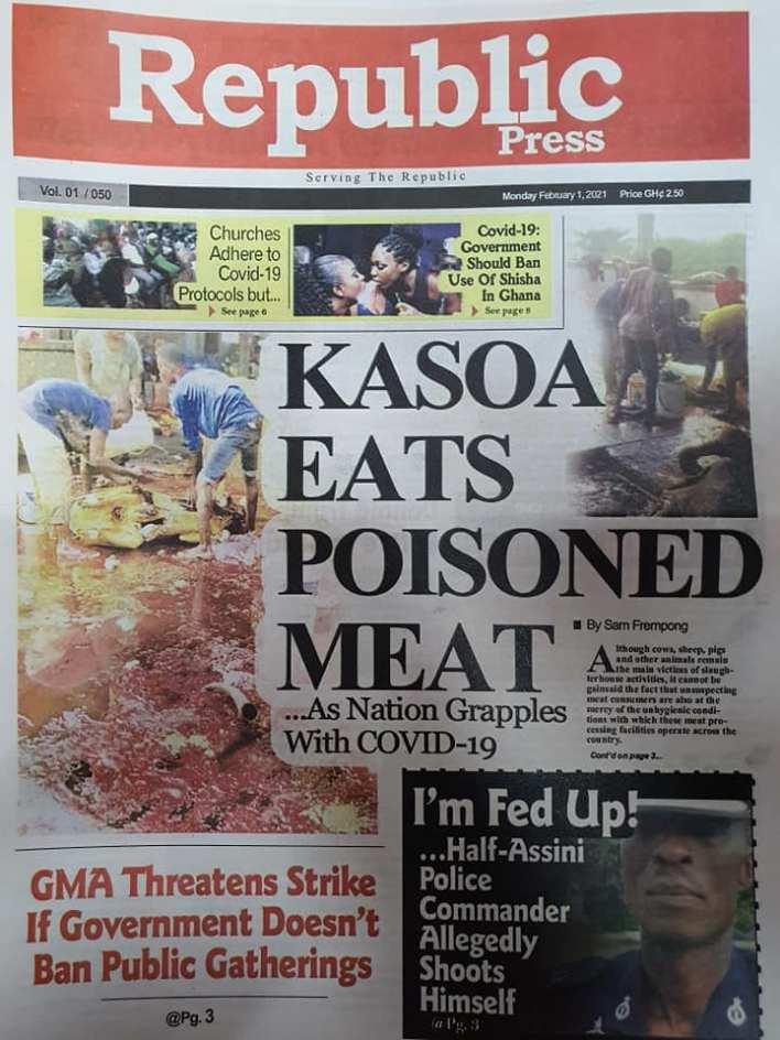 Newspaper Headlines Of Today February 1st 2021 90