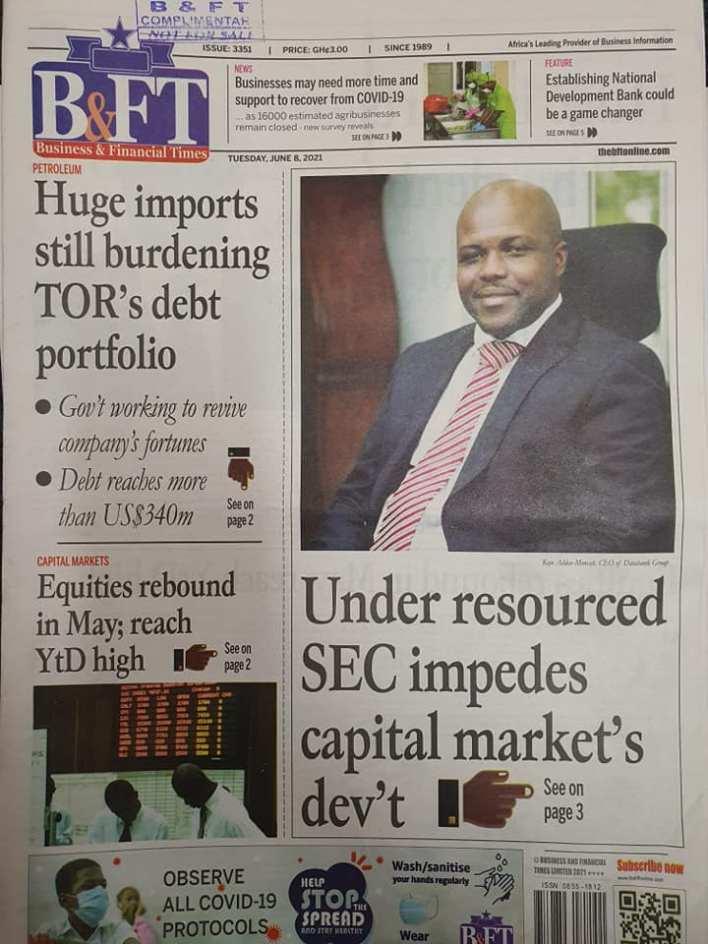 Newspaper Headlines Of Today June 8th 2021 9