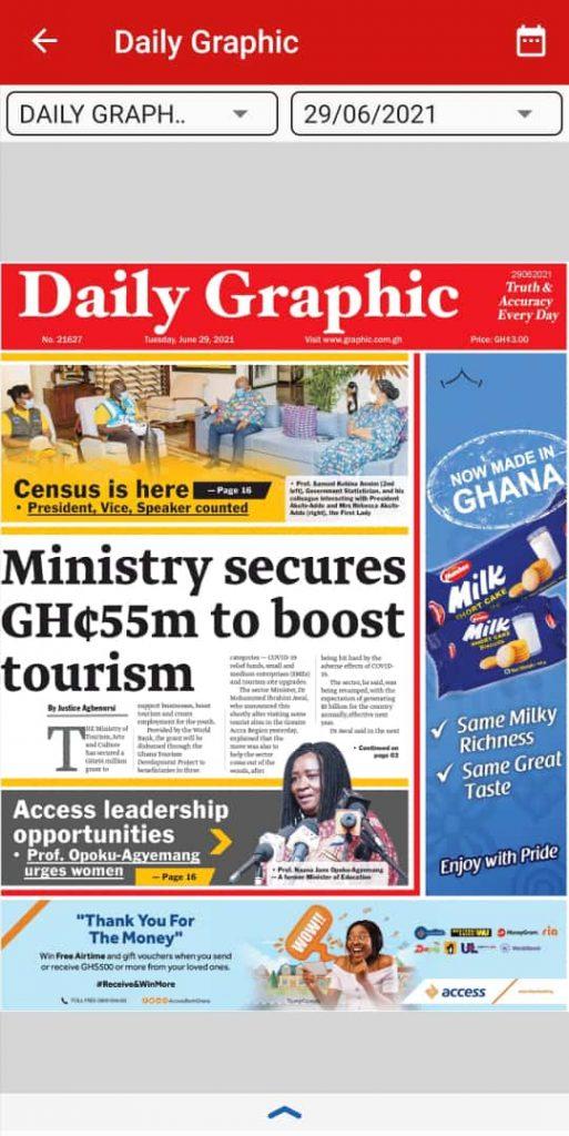 Newspaper headlines of Tuesday, June 29, 2021 8