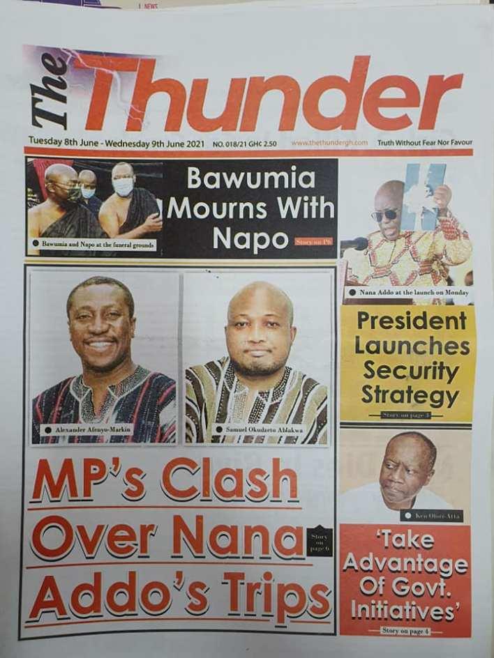 Newspaper Headlines Of Today June 8th 2021 4