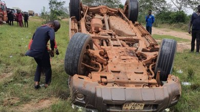 Photo of South Dayi MP escapes death in accident