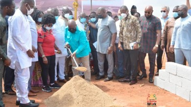 Photo of 2023 Africa Games: Akufo-Addo cuts sod for Olympic stadium