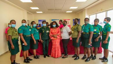 Photo of Women in aviation educated on breast cancer