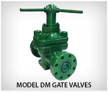 Model DM Gate Valves
