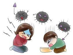 新型ノロウイルスの初期症状