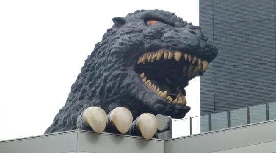歌舞伎町のゴジラのある場所