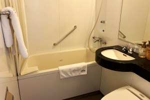 立川ワシントンホテルのバスルーム