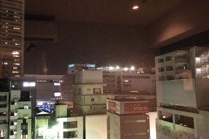 立川ワシントンホテルからの夜景
