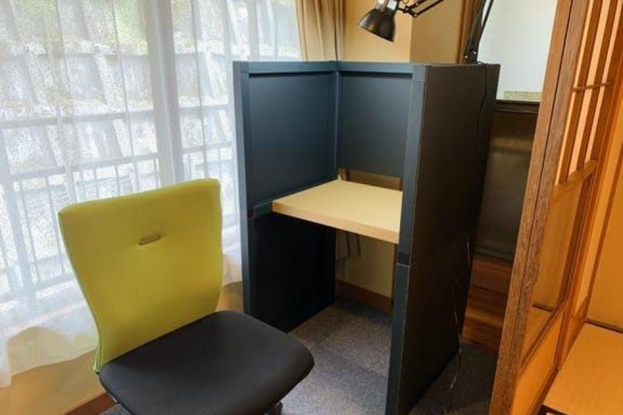 ThinkLabHOMEが箱根湯本ホテルのワーケーションに導入
