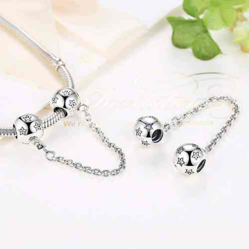 Ball Safety Chain Charm