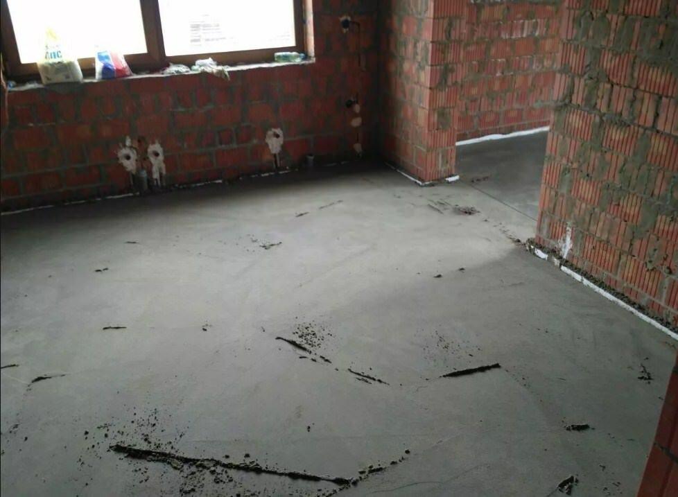 Удельный вес стяжки м150. Технология бетонирования цементно-песчаной стяжки. Расчет смеси для стяжки пола